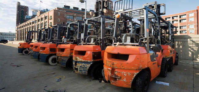 Important Factors When Going For Used Forklifts